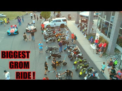 BIGGEST HONDA GROM RIDE OUT !
