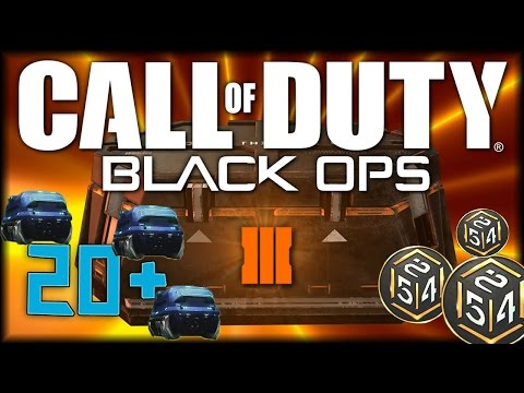 Black Ops 3 - 20+ Rare Supply Drop Opening 500+ Cryptokeys