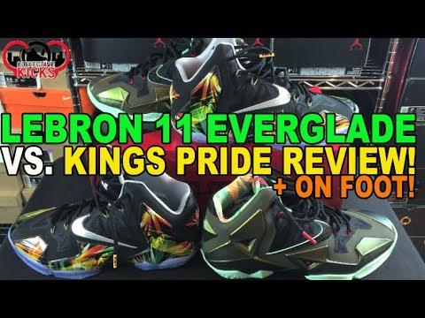 lebron 11 kings pride on foot - photo #13