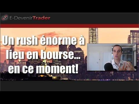 Un rush énorme en bourse en ce moment (Nouveau Bull Market)