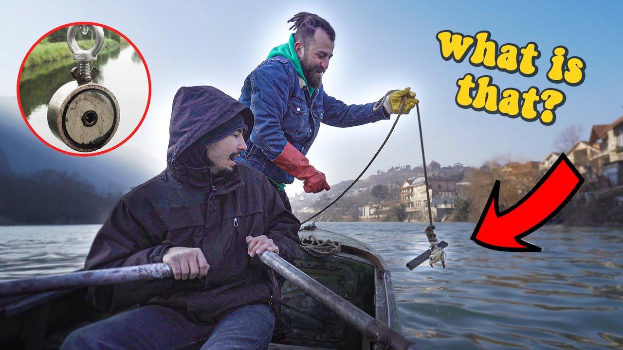 ვეძებთ წყალქვეშა განძს – Magnet Fishing VLOG