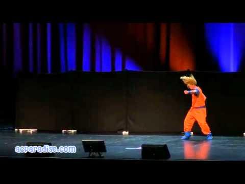 Anime Expo 2011 Masquerade #05 Goku Vs Sephiroth DBZ FF7
