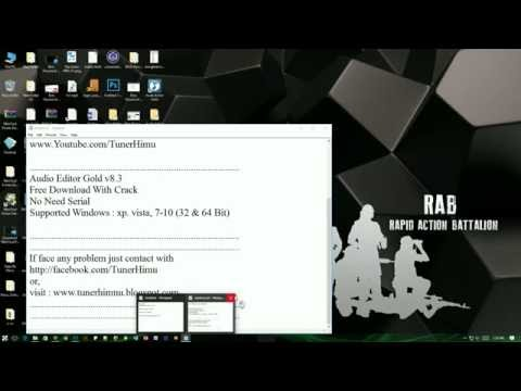 Audio Editor Gold v8.3 Download With Crack -টিউনার হিমু (Tuner Himu)