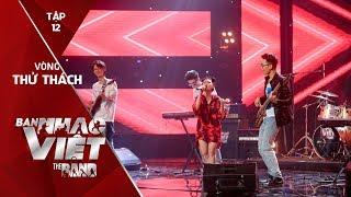 Ghen - Jazz Glory // Tập 12 vòng Thử Thách | The Band - Ban Nhạc Việt 2017