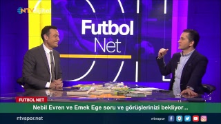 [CANLI] Nebil Evren ve Emek Ege Futbol Net'te!
