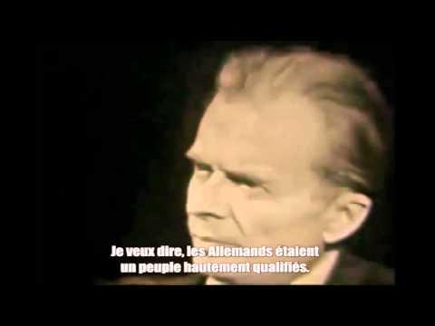 Aldous Huxley en 1958. Interview prémonitoire