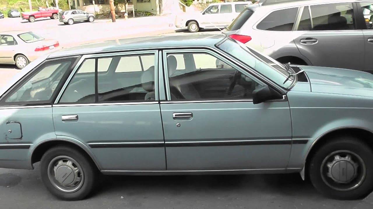 Nissan Sentra 1984 Walkaround - YouTube