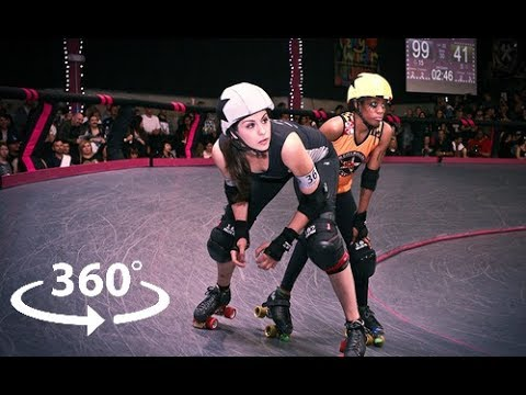 Derby Dolls VR Trailer - Inside LA's Premier Women's Roller Derby League