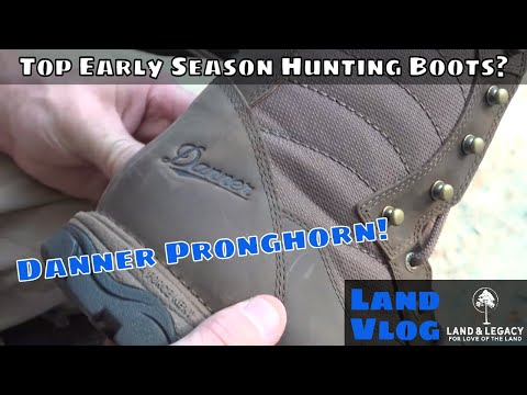 2019 Danner Pronghorn Review - Early Season Hunting Boots!