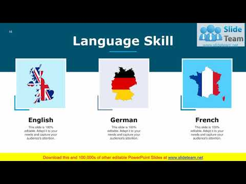 Example Presentation For Job Interview PowerPoint ...