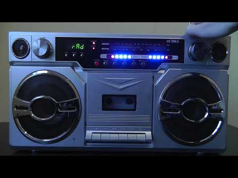 Victrola 1980s Style Bluetooth Boombox Review And Test