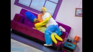 Los Simpson se cuelan en 'Me Resbala' de la mano de Carlos Latre y El Monaguillo