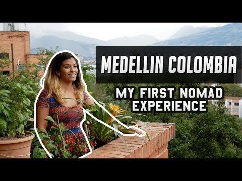 🇨🇴Medellin Colombia   My First Digital Nomad Experience