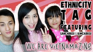 Ethnicity Tag ft. My Brother & Sister! | Annchirisu