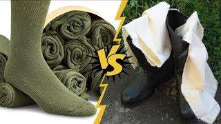 Почему портянки были популярнее, чем носки