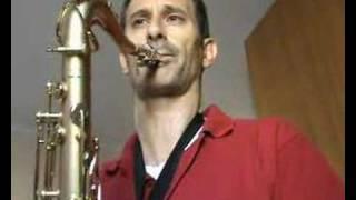 over the rainbow (A Borgani saxophone)