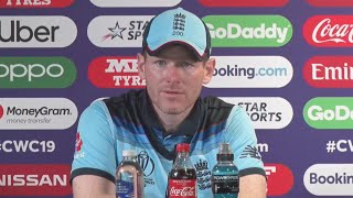 Eoin Morgan Post Match Press Conference After England Beat Australia to reach World Cup final | #CWC