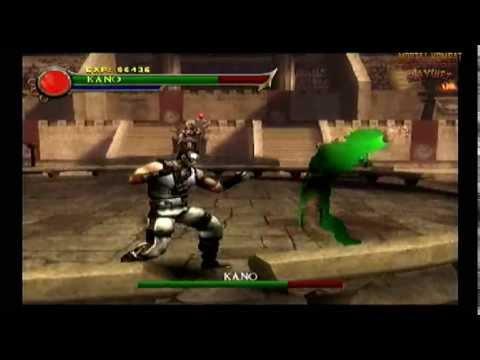 Kano Vs Shung Tsung *Bosses Fixed Code* (Ps2 Mortal Kombat: Shaolin Monks)