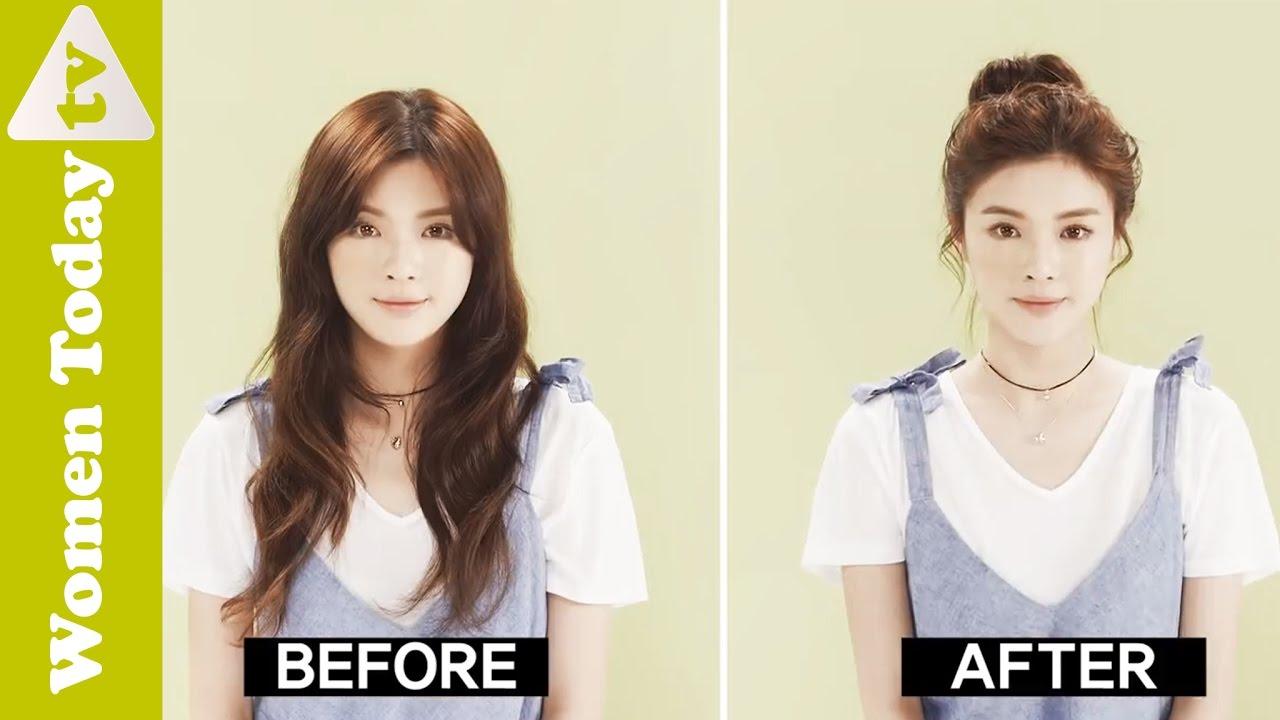 🌺 Học Cách Búi Tóc Củ Tỏi Tránh Nóng Ngày Hè Xinh Xắn | Easy Bun Hairstyles