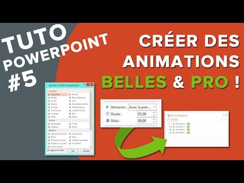 Tuto PowerPoint #5 - Comment Créer de belles Animations pro ? + BONUS !