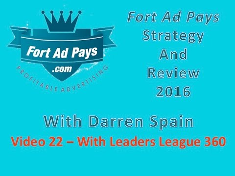 Fort Ad Pays Strategy Review   2016 Video 22 With Darren Spain