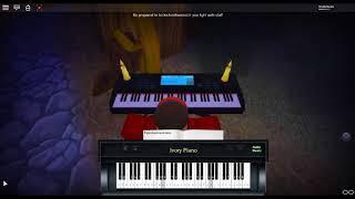 Breezeblocks - An Awesome Wave by: alt-J on a ROBLOX piano.