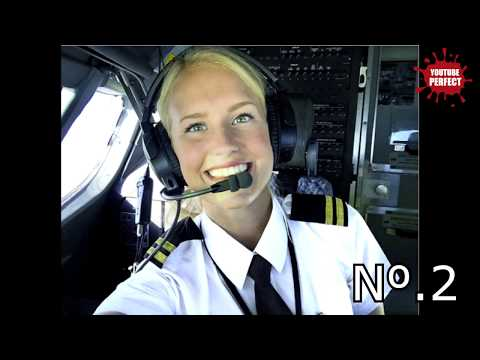 TOP 5 Most Beautiful Female Pilot in the World