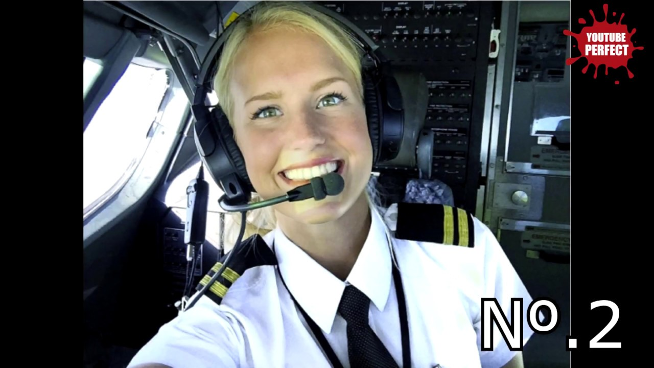 TOP 5 Most Beautiful Female Pilot in the World  YouTube