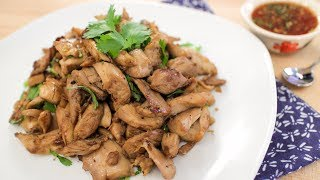 Grandma's Epic Twice-Cooked Chicken Recipe ไก่เค็ม - Hot Thai Kitchen!