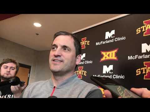 Dave Sprau - VIDEO: ISU Men's Basketball Coach Steve Prohm, G Lindell Wigginton