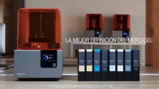 Impresion 3D SLA Profesional - Formlabs 2 - Resina - 3D Insumos