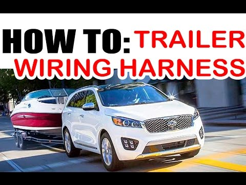 hqdefault kia hyundai towing wire harness install easy! youtube kia sorento trailer wiring harness 2011 at gsmportal.co