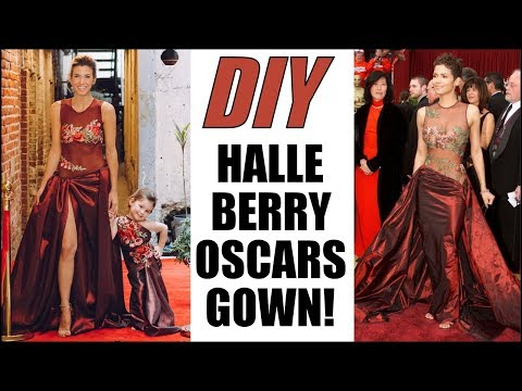 DIY: Recreate Halle Berry's Iconic OSCARS Dress! - By Orly Shani