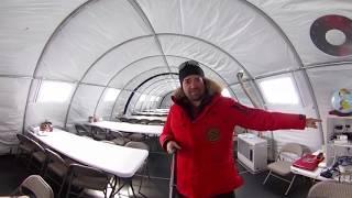 Как ходят в туалет в Антарктиде   экскурсия 360 градусов по антарктическому лагерю Mamontcup2018