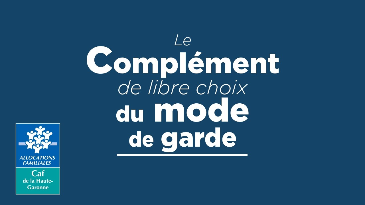 Caf Haute Garonne Complement Mode De Garde Cmg