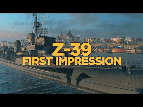World of Warships - Z-39 First Impression