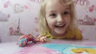Моє 2-е відео! Розпакування 4-ої ляльки ЛОЛ! Спасибі що дивіться на мене!)