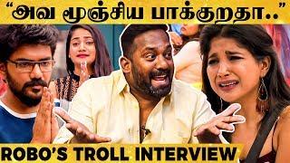 """Sakshi-அ முதல்ல வெளிய அனுப்பனும்.."" - மரண கலாய் செய்த Robo Shankar!   Ultimate Fun Interview"