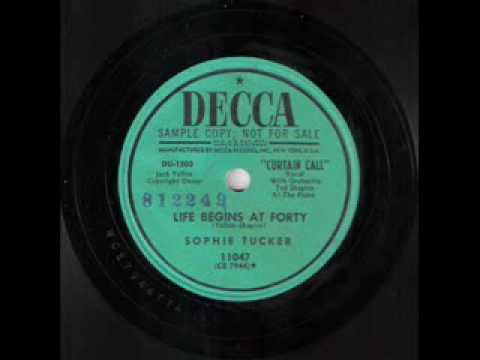Sophie Tucker - Life Begins at Forty (1947)