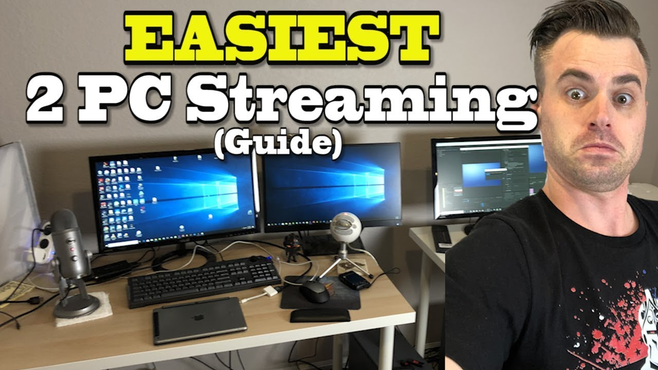 EASY 2 PC STREAMING GUIDE with Elgato / OBS (Fortnite Settings) How to  Stream to Twitch | Dual PC