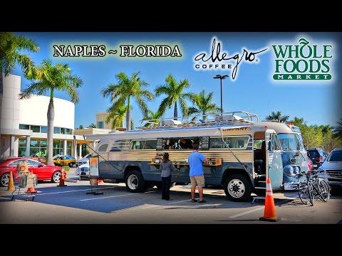Whole Foods Market and Allegro Bus Coffee Florida Tour 2015 Naples Mercato