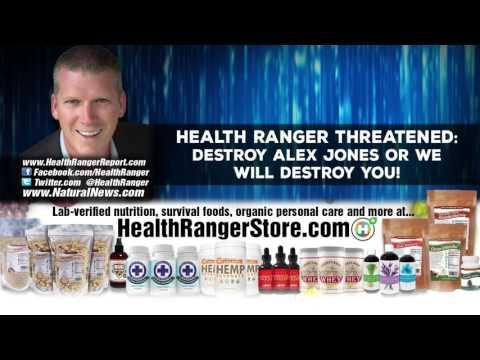 Health Ranger THREATENED  Destroy Alex Jones or we will destroy YOU! 720p'