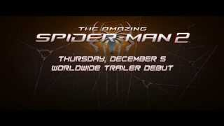 The Amazing Spider Man 2 : WORLDWIDE TRAILER DEBUT TOMORROW [HD]