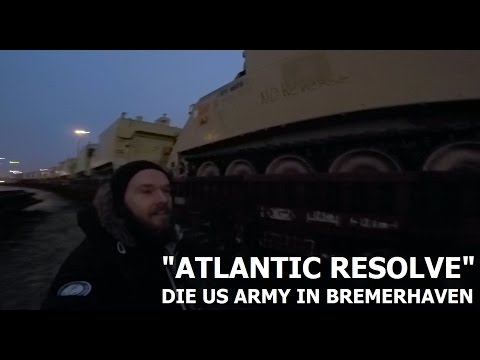 """US ARMY IN BREMERHAVEN """"ATLANTIC RESOLVE"""" - KITE BUDDY - DAILY LIFE"""
