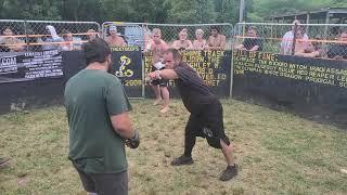 COWBOY VS BIG COUNTRY MMA ALTERNATE ANGLES