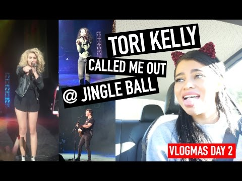 TORI KELLY CALLED ME OUT @ JINGLE BALL ! | VLOGMAS DAY 2