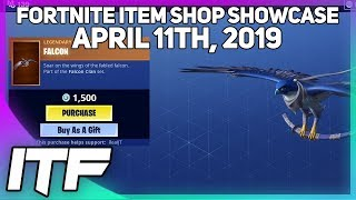 Fortnite Item Shop *NEW* FALCON GLIDER AND WRAP! [April 11th, 2019] (Fortnite Battle Royale)