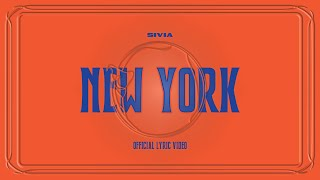 SIVIA - NEW YORK (OFFICIAL LYRIC VIDEO) - Vertical Video