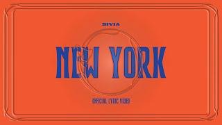 SIVIA - New York (Vertical Lyric Video) Official