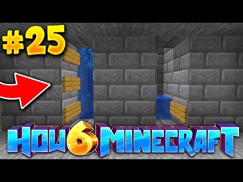 How To Minecraft 6: The UNDERGROUND BASE work CONTINUES! (#25)